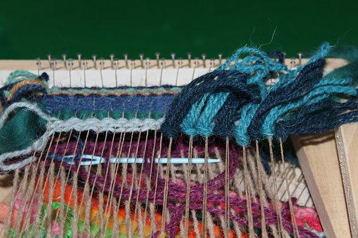Crafts, Handicraft, Picture Frame, Fiber, Wool