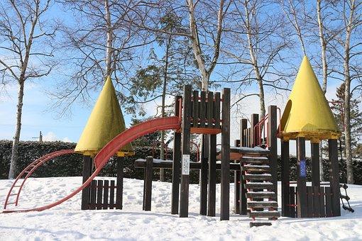 Snow, Amusement Park, Facilities For Children, Park