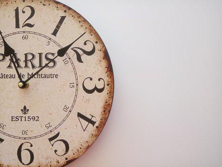 Clock, Wall, Time, Design, Room, Living Room, Terrace