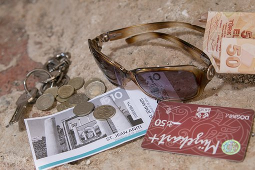 Travel, Turkey, Tourist, Tourism, Coins, Sunglasses
