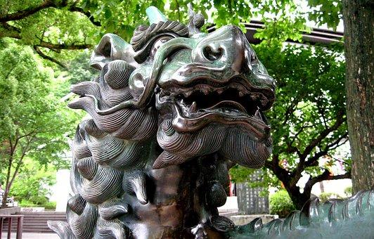 Statue, Dragon, Imagine, Hair, Tourist Destination