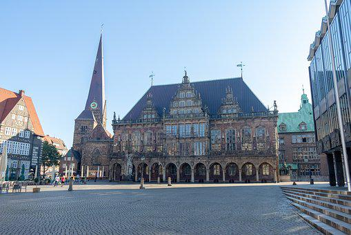 Bremen, Town Hall, Places Of Interest, Historically