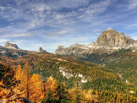 Dolomites, Tofane, Nature, Unesco World Heritage