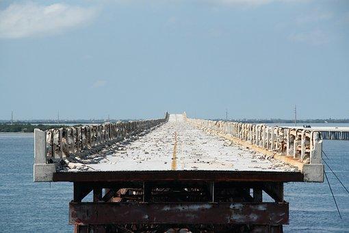 Bridge, Highway, Usa, Florida, Beauty, History, Road