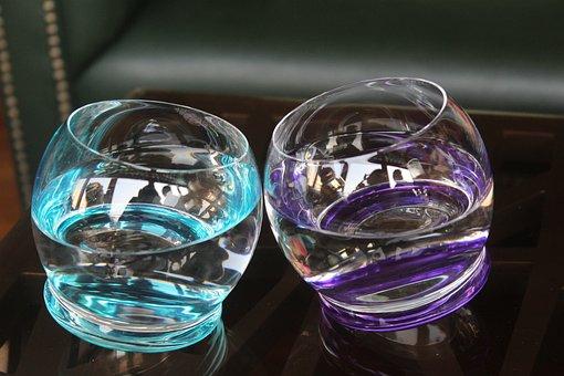 Glass, Water, Food, Drinks, Creative