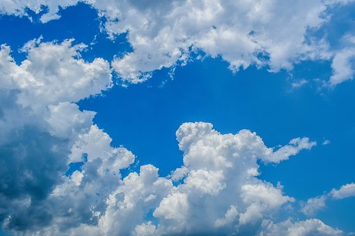 Clouds, White, Cumulus, Nature, Cloudscape, Weather