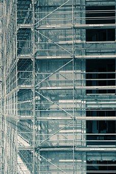 Site, Scaffolding, Scaffold, Building, Architecture