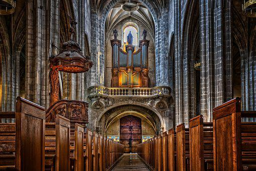 Cathedral, Church, Dom, Religion, Christianity
