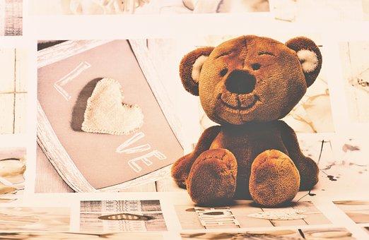 Teddy Bear, Teddy, Soft Toys, Furry Teddy Bear, Cute