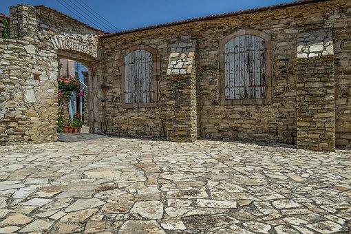 Cyprus, Kato Lefkara, Village, Architecture