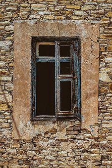 Window, Old, Weathered, Rusty, Destroyed, Decay, Wear