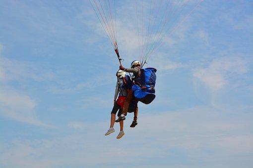 Paragliding, Paragliding Bis Place, Duo, Harnesses