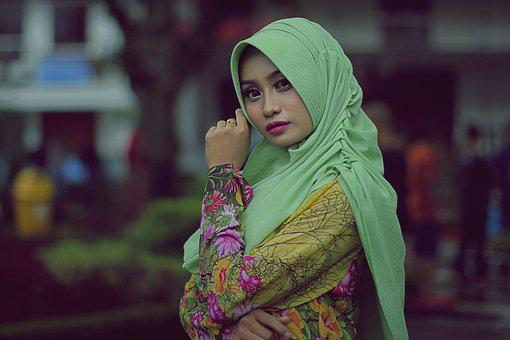 Hijab, Moslem, Female, Portrait, Girl, Islam, Muslim