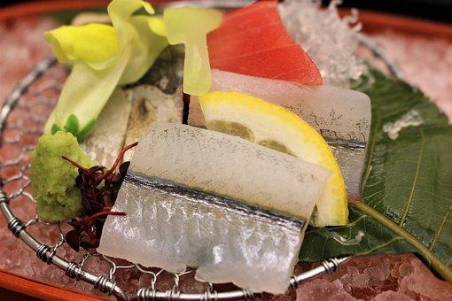 Japanese, Japan, Sashimi, Food, Travel, Raw, Fish