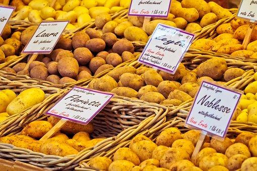 Potatoes, Vegetables, Food, Cook, Nutrition, Market