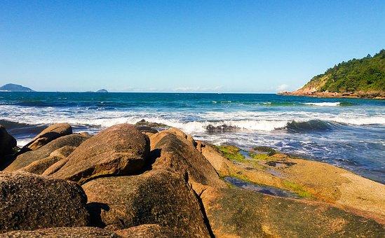 Mar, Beach, Stone, Water, Holidays, Sand, Ocean, Summer