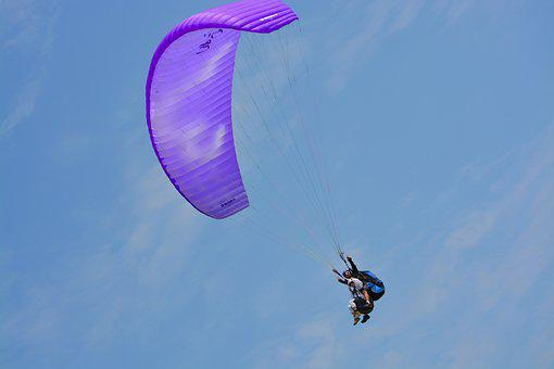 Paragliding, Paragliding Bis Place, Duo, Paragliders