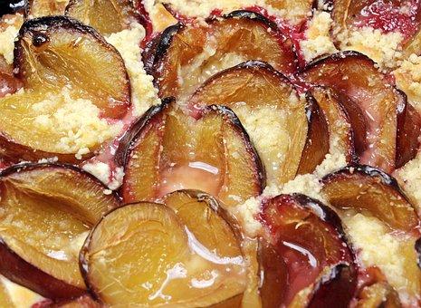 Plum Cake, Plums, Streusel Cake, Cake, Sweet, Bake