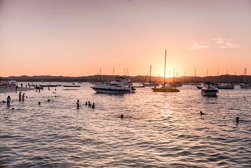 Mar, Salinas Margarida, Bahia, Brazil, Water, Sol