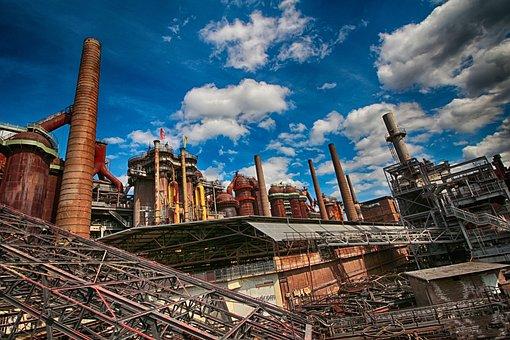 Ironworks, Blast Furnaces, Steel, Steel Mill