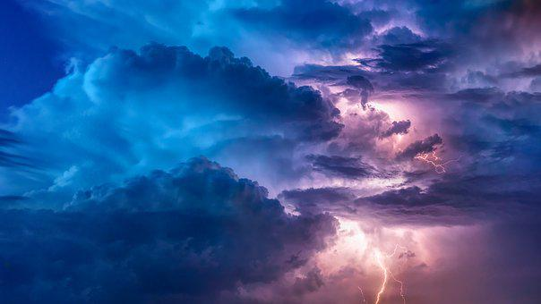 Thunderstorm, Flashes, Weather, Sky, Forward, Storm