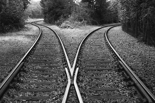 Rails, Train, Railroad Tracks, Railway, Gleise