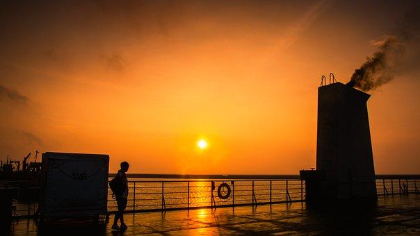 Sunset, Travel, Traveler, Outdoor, Jeju, Jejudo, Sky