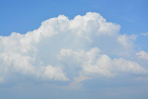 Clouds, White Clouds, Sky, Weather, Meteorology