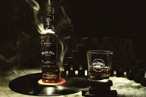 Whisky, Jack, Smoke, Motherboard, Vinyl, Alcohol, Dark