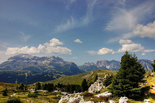 Pralongia, Dolomites, Alm, Nature, Enjoy, Hiking Tour