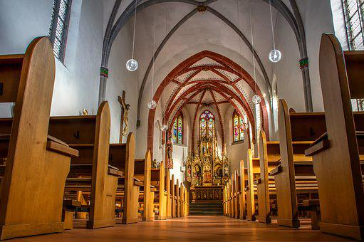 Church, Architecture, Building, Altar, Religion