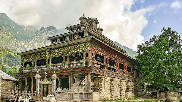 Wooden, Mosque, Masjid, Building, Architecture, Worship