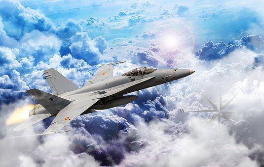 Plane, F18, Spain, Aviation, Sky, Hunting, Flight