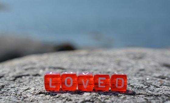 Loved, Love, Postcard, Background, Emotions, Greeting