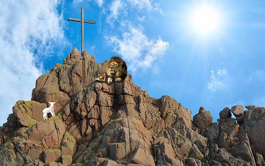 Jesus, Christ, Lord, God, Bible, Christian, Lion, Lamb