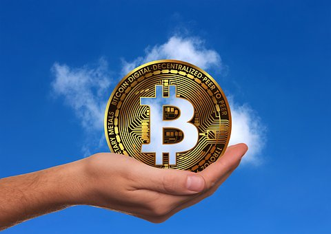 Bitcoin, Crypto-currency, Currency, Money, Hand, Keep
