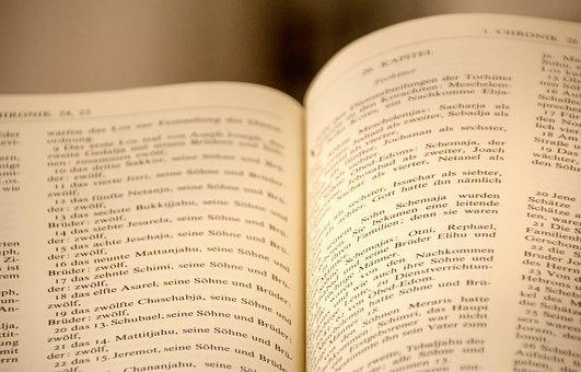 Bible, Book, Church, Pages, Leaf, Reading, Literature
