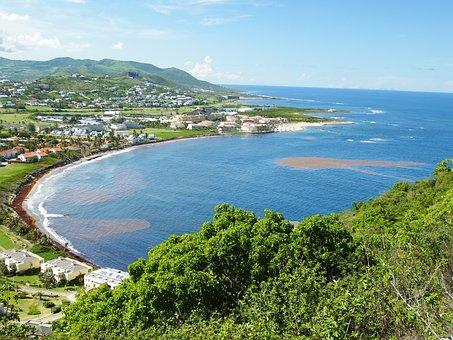 Saint, Kitts, Caribbean, Tropical, Island, Sunny