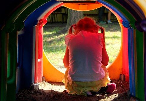 Children, Child, The Little Girl, Hide, Childhood