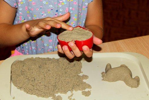 Child, Children, Fun, Creativity, Sand, Molds