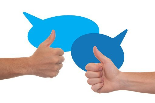 Thumb, Feedback, Confirming, Write A Review, Balloons