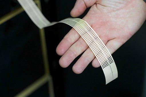 Data, Computer, Tape, Coding, History, Hand