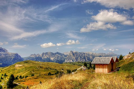 Dolomites, Pralongia, Alm, Nature, Enjoy, Hiking Tour