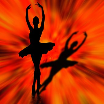 Silhouette, Dancer, Design, Dance, Fantasy, Girl