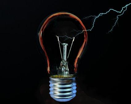 Light Bulb, Current, Flashes, Energy, Light, Pear, Idea
