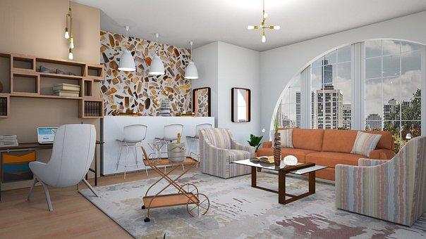 Interior, Sofa, Window, The Interior Of The, Furniture