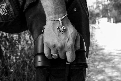 Black White, Hand, Human, Bracelet, Path Finder, Veins