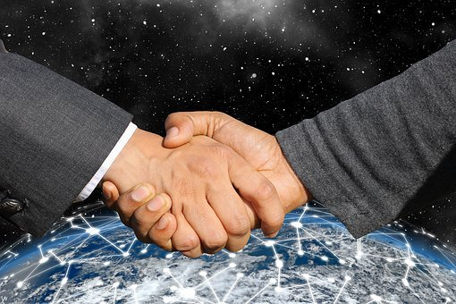 Handshake, Shaking Hands, Internet, Cyber, Network