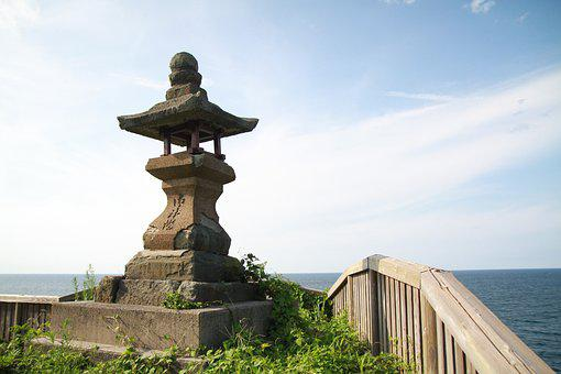 Japan, Tottori, Sea