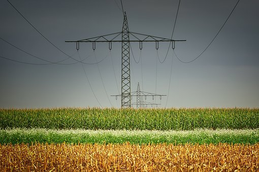 Current, Mast, Field, Cereals, Energy, Cable, Voltage